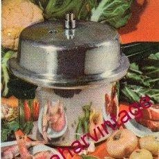 Catálogos publicitarios: CACEROLAS DE PRESION EDESA. PUBLICIDAD ORIGINAL. AÑOS 50/60.. Lote 161160102