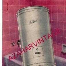 Catálogos publicitarios: TERMOS ELECTRICOS EDESA. PUBLICIDAD ORIGINAL. AÑOS 50/60.. Lote 161283354