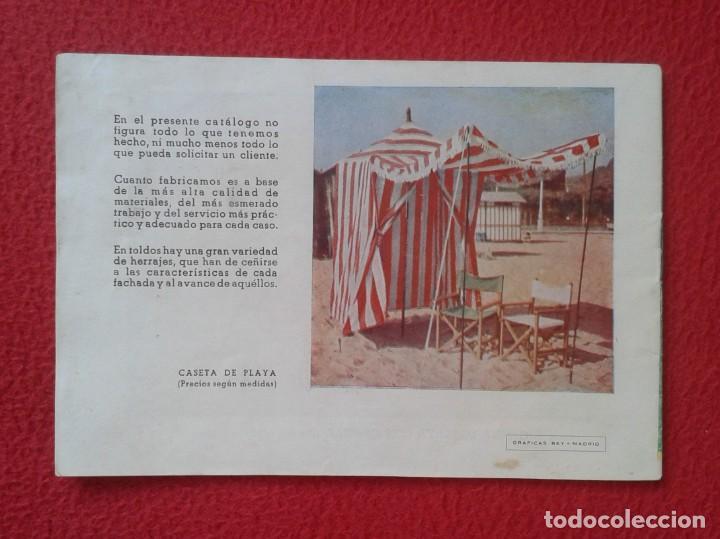 Catálogos publicitarios: CATÁLOGO PUBLICITARIO EL SOL MANUFACTURAS DE OBJETOS LONA MADRID SEVILLA ZARAGOZA TOLDOS QUITASOL... - Foto 2 - 162452490