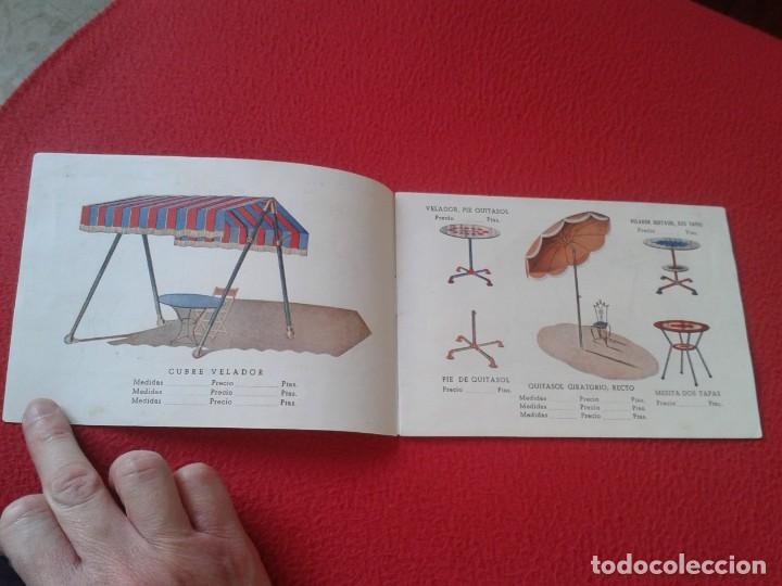 Catálogos publicitarios: CATÁLOGO PUBLICITARIO EL SOL MANUFACTURAS DE OBJETOS LONA MADRID SEVILLA ZARAGOZA TOLDOS QUITASOL... - Foto 3 - 162452490