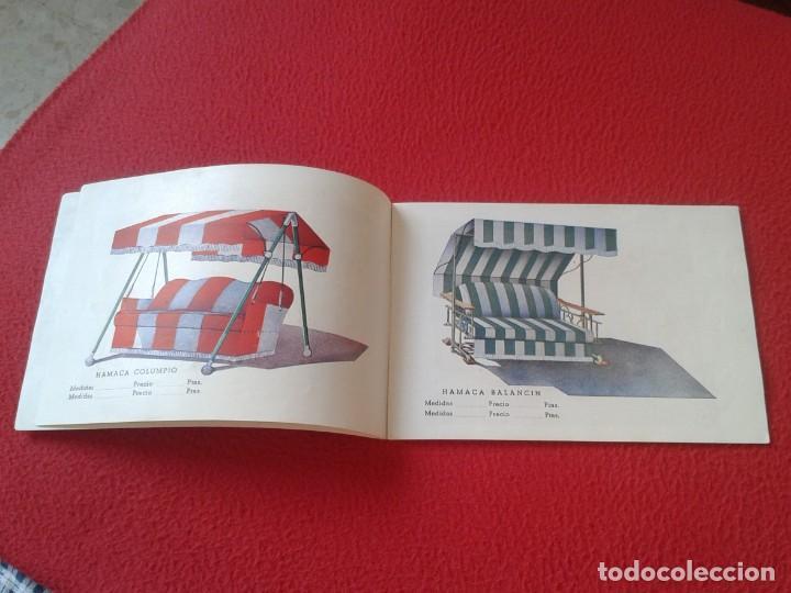 Catálogos publicitarios: CATÁLOGO PUBLICITARIO EL SOL MANUFACTURAS DE OBJETOS LONA MADRID SEVILLA ZARAGOZA TOLDOS QUITASOL... - Foto 4 - 162452490