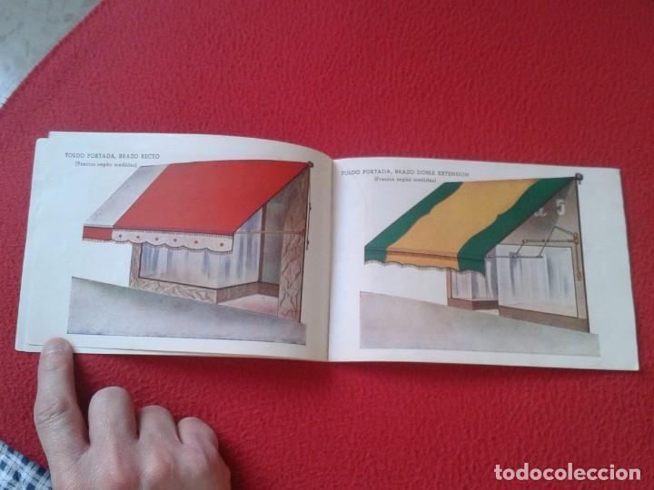 Catálogos publicitarios: CATÁLOGO PUBLICITARIO EL SOL MANUFACTURAS DE OBJETOS LONA MADRID SEVILLA ZARAGOZA TOLDOS QUITASOL... - Foto 5 - 162452490