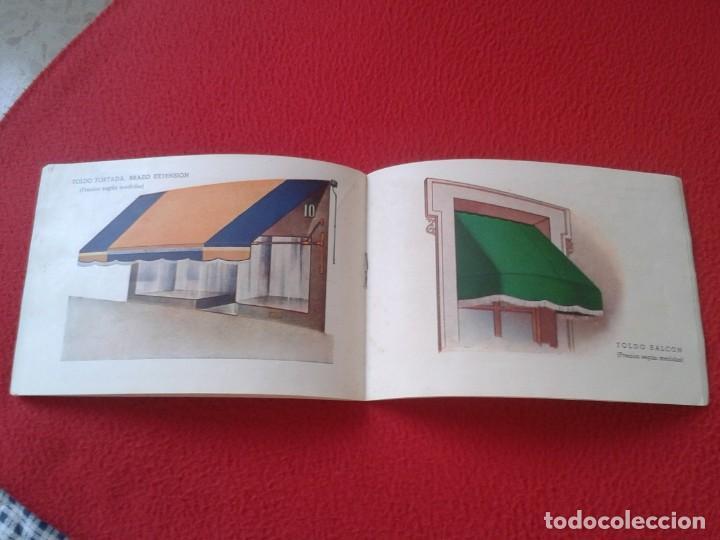Catálogos publicitarios: CATÁLOGO PUBLICITARIO EL SOL MANUFACTURAS DE OBJETOS LONA MADRID SEVILLA ZARAGOZA TOLDOS QUITASOL... - Foto 6 - 162452490