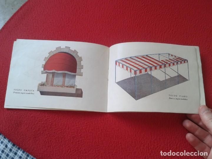 Catálogos publicitarios: CATÁLOGO PUBLICITARIO EL SOL MANUFACTURAS DE OBJETOS LONA MADRID SEVILLA ZARAGOZA TOLDOS QUITASOL... - Foto 7 - 162452490