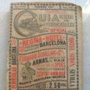 Catálogos publicitarios: GUIA GENERAL DE FERROCARRILES.SERVICIO OFICIAL DE LAS COMPAÑIAS. FEBRERO 1927.. Lote 165106306