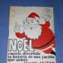Catálogos publicitarios: ANTIGUO CATALOGO PUBLICITARIO DE EMBUTIDOS NOEL ILUSTRA MUNTAÑOLA VER FOTOS Y DESCRIPCION. Lote 165363942