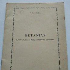 Catálogos publicitarios: TARRAGONA - BETANIAS AÑO 1954 - AÑO MARIANO - A. SANS CARDONA - VER FOTOS. Lote 166005902