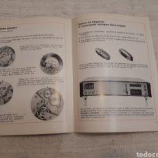 Catálogos publicitarios: CHRONORAMA EXPO 74 ÚTILES Y HERRAMIENTAS RELOJES. Lote 167081029