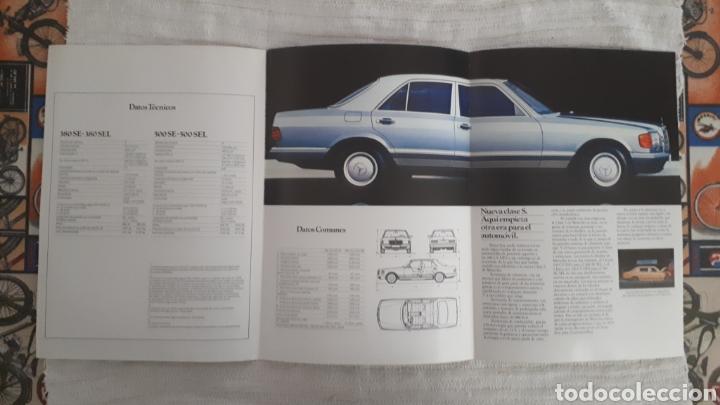 Tríptico Mercedes Benz 380 SE, 380 SEL, 500 SE, 500 SEL