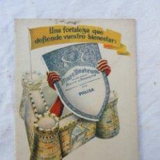 Catálogos publicitarios: CATÁLOGO LIBRO LIBRITO PUBLICIDAD - EL SEGURO MARE NOSTRUM - . AÑOS 60.. Lote 167612716