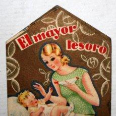 Catálogos publicitarios: FOLLETO PUBLICITARIO DE LA CASA NESTLÉ. LACTOGENO. 12 CM. X 8 CM.ILUSTRADO POR PERE CLAPERA.. Lote 167658572