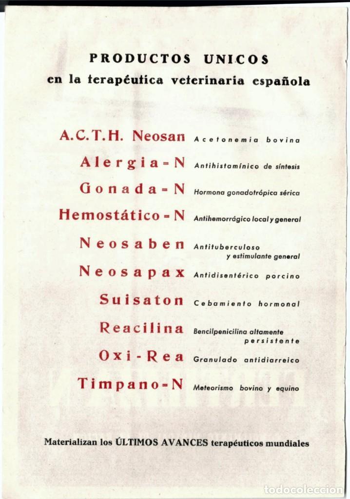 Catálogos publicitarios: Prospectos publicitarios medicamentos - Foto 2 - 167962492