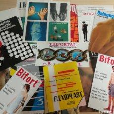 Catálogos publicitarios: LOTE PUBLICIDAD FARMACÉUTICA AÑOS 70. Lote 167992020