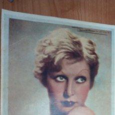 Catálogos publicitarios: PUBLICIDAD AÑOS 1930, PERFUME TABÚ. A COLOR. Lote 168148172