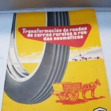 Catálogos publicitarios: CATÁLOGO FIRESTONE HISPANIA 1957. Lote 168249390