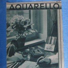 Catálogos publicitarios - CATÁLOGO DÍPTICO AQUARELLO. LOS LÁPICES Y TIZAS EBERHARD FABER, 26 NOV. 1934. - 168428092