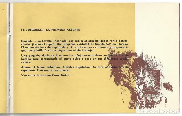 Catálogos publicitarios: CATÁLOGO PUBLICITARIO CODORNIU. CHARLANDO DURANTE LA MARCHA... SAN SADURNÍ DE NOYA. BARCELONA- 1962 - Foto 3 - 168803904
