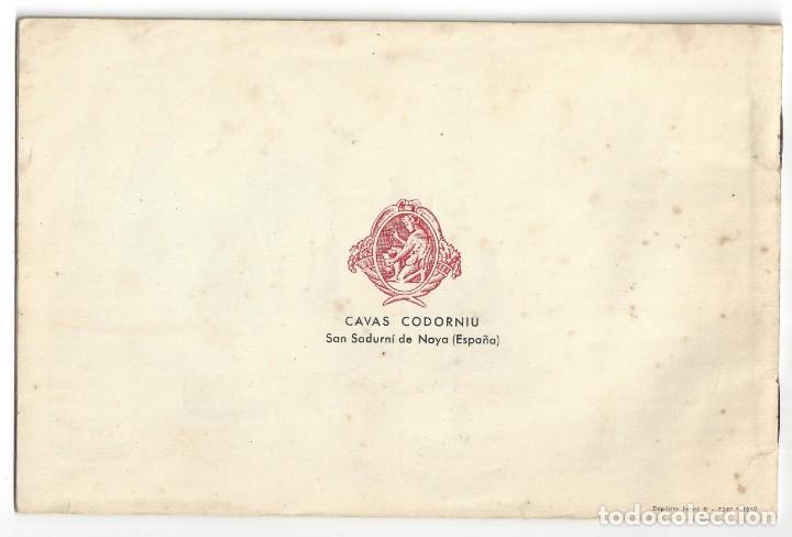 Catálogos publicitarios: CATÁLOGO PUBLICITARIO CODORNIU. CHARLANDO DURANTE LA MARCHA... SAN SADURNÍ DE NOYA. BARCELONA- 1962 - Foto 5 - 168803904