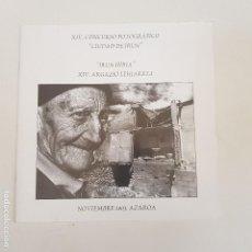 "Catálogos publicitarios: XIV CONCURSO FOTOGRÁFICO ""CIUDAD DE IRÚN"". NOV 2003. AZAROA. ""IRÚN HIRIA"" TDKR66. Lote 168863656"