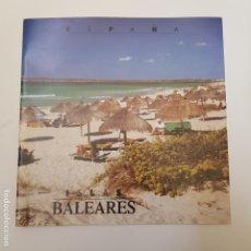 Catálogos publicitarios: ISLAS BALEARES - GUIA TURISMO - TDKR66.. Lote 168864700