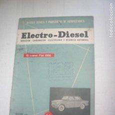Catálogos publicitarios: ELECTRO-DIESEL -REVISTA TÉCNICA.. Lote 169590864