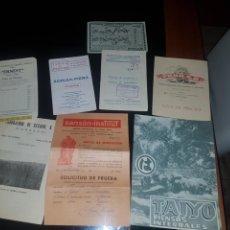 Catálogos publicitarios: LOTE DE CATÁLOGOS PUBLICITARIOS ANTIGUOS. Lote 169749625