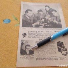 Catálogos publicitarios: ANTIGUO ANUNCIO PUBLICIDAD REVISTA LOCION ANTICAIDA PANTENE ESPECIAL PARA ENMARCAR. Lote 170339224