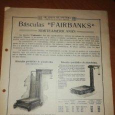 Catálogos publicitarios: ARCADIO D. DE CORCUERA. MAQUINARIA ACCESORIOS. BILBAO . Lote 171547700
