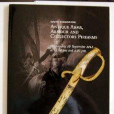 Catálogos publicitarios: RARO CATALOGO DE SUBASTA DE ARMAS DE LA CASA CHRISTIE´S.COMO NUEVO.. Lote 171653717