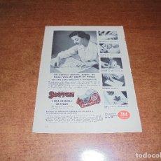 Catálogos publicitarios: PUBLICIDAD 1952: SCOTCH CINTA CELULOSA DE PEGAR - PINTURAS Y CRISTAL PITTSBRG. HOTEL JARAGUA. Lote 171776014