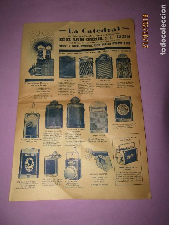 Catálogos publicitarios: Antiguo Catálogo de Linernas y Faroles para Bicicletas y de Mano IBÉRICA ELECTRO-COMERCIAL S.A. - Foto 3 - 171821589
