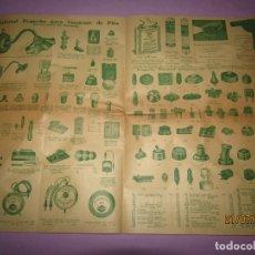 Catálogos publicitarios: ANTIGUO CATÁLOGO DE PEQUEÑO MATERIAL ELÉCTRICO Y LÁMPARAS DE LÁMPARAS MARCA D.A.V.. Lote 171821775