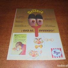 Catálogos publicitarios: PUBLICIDAD 1987: HELADOS FRIGO. DOCTRO ESTRABIK.. Lote 172077688