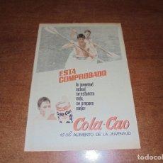 Catálogos publicitarios: PUBLICIDAD 1967: COLACAO . Lote 172377570