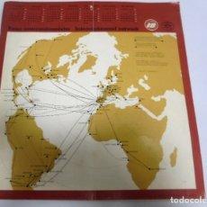 Catálogos publicitarios: RUTAS INTERCONTINENTALES. HORARIOS Y TARIFAS. 1 ABRIL - 31 OCTUBRE 1971. IBERIA. Lote 172745995