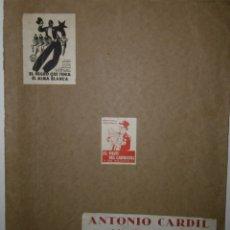 Catálogos publicitarios: CATÁLOGO MONOGRAM PICTURES - 1934 - 1935. Lote 172984584