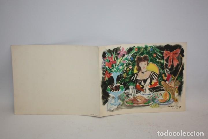 Catálogos publicitarios: RESTAURANTE PARELLADA - FELICITACIÓN DE NAVIDAD - GRAU SALA 53 - PARIS. - Foto 5 - 173099887