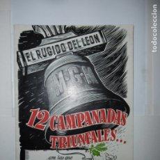 Catálogos publicitarios: GUIA ORIGINAL PUBLICITARIA - MGM 1953. Lote 173112782