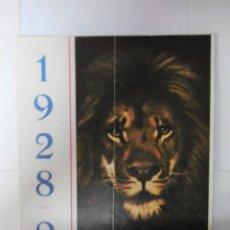 Catálogos publicitarios: GUIA ORIGINAL PUBLICITARIA - MGM 1928-1929. Lote 173112929