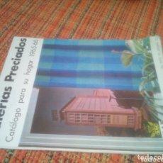 Catálogos publicitarios: CATÁLOGO GALERÍAS PRECIADOS 1965-66. Lote 173213137