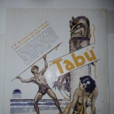 Catálogos publicitarios: CATÁLOGO PUBLICITARIO PARAMOUNT AÑOS 30. Lote 173369444