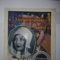 Catálogos publicitarios: DOS CATÁLOGOS DE PARAMOUNT GRÁFICO DE 1930 - ENERO Y JUNIO. Lote 173369932