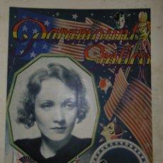 Catálogos publicitarios: CATÁLOGO PARAMOUNT GRÁFICO - OCTUBRE 1931. Lote 173370255