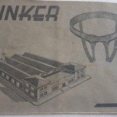 Catálogos publicitarios: FOLLETO VENTA VENDAS Y FAJAS PINKER FARMACIA MEDICINA VALENCIA 1954. Lote 173500852