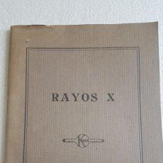 Catálogos publicitarios: LIBRO RAYOS X KODAK 1930. Lote 173505527
