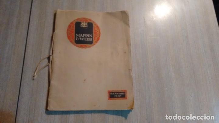 CATALOGO MAPPIN & WEBB - AÑO 1930 (Coleccionismo - Catálogos Publicitarios)