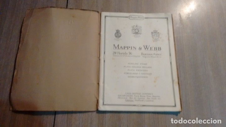 Catálogos publicitarios: CATALOGO MAPPIN & WEBB - AÑO 1930 - Foto 2 - 173822064