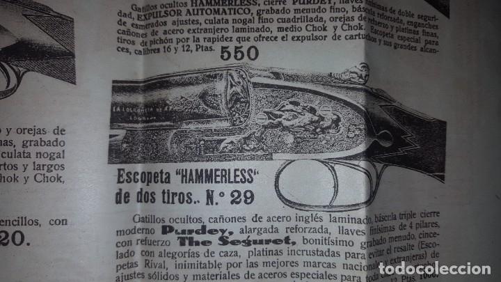 Catálogos publicitarios: La Logroñesa de Armas - Catálogo de 1929 - 1930 - Foto 4 - 174045525