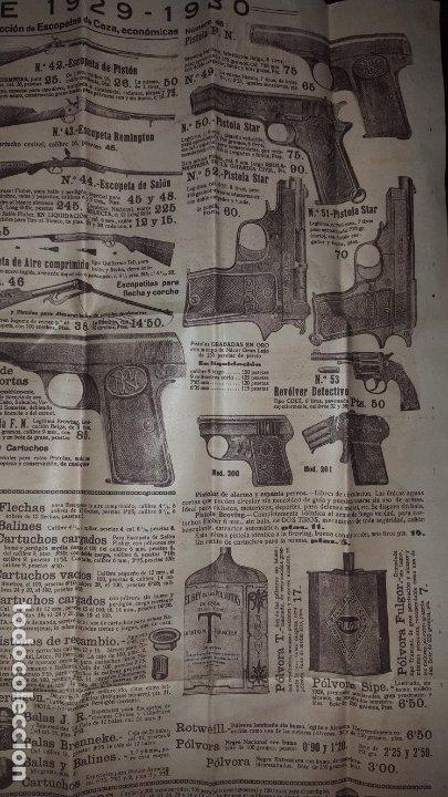Catálogos publicitarios: La Logroñesa de Armas - Catálogo de 1929 - 1930 - Foto 5 - 174045525