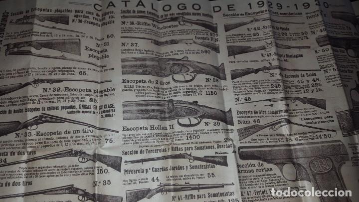 Catálogos publicitarios: La Logroñesa de Armas - Catálogo de 1929 - 1930 - Foto 7 - 174045525